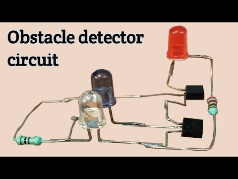 Simple Proximity Sensor Obstacle Detector Circuit Youtube Electrical Circuit Diagram Circuit Sensor