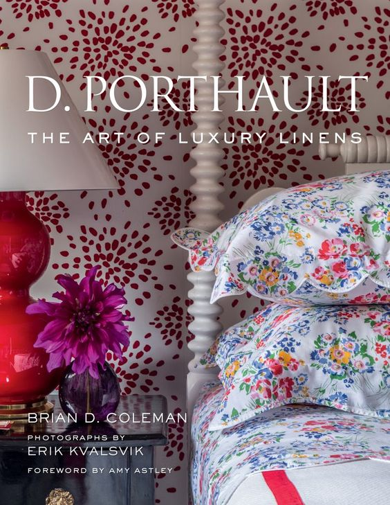 So excited about the new D.Porthault linens book! Bedroom inspiration!