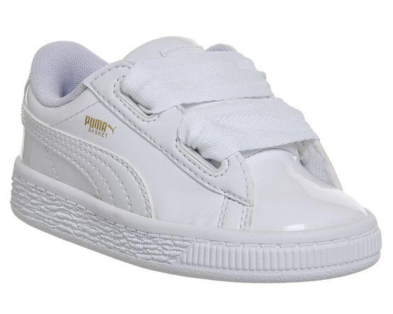 puma basket classic white gum sores