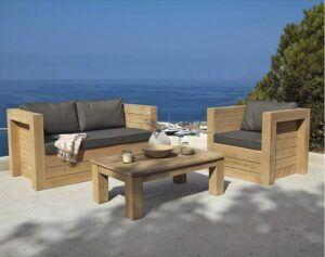 Petit Salon De Jardin Pas Cher In 2020 Wooden Garden Benches Garden Bench Seating Diy Patio Furniture