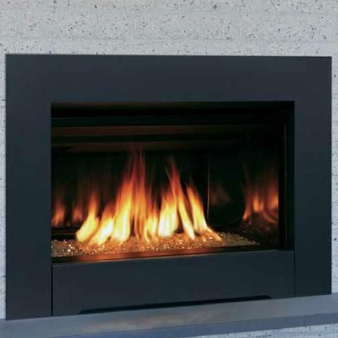 Majestic Ruby Direct Vent Gas Fireplace Insert Large Vented