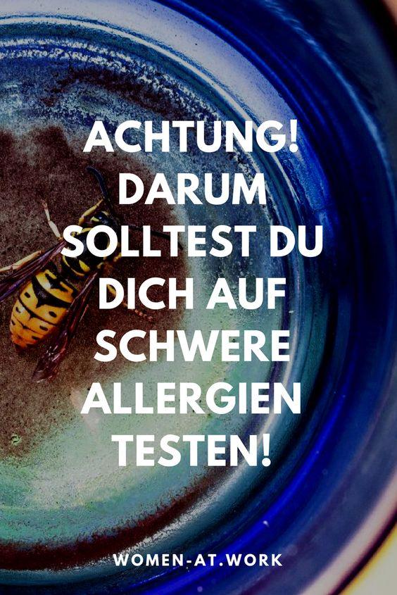 """Über 20.000 Auslöser von Allergien kennt man heute. Da verwundert es nicht, dass fast 25 Millionen Deutsche unter einer Allergie leiden. Meist an """"harmlosen"""" Varianten wie den verschiedenen Pollenallergien. Leider gibt es aber auch schwere Allergien, die einen anaphylaktischen Schock auslösen können. Dann kann ein Notfallset im Ernstfall auch dein Leben retten! #schwereallergie #allergie"""