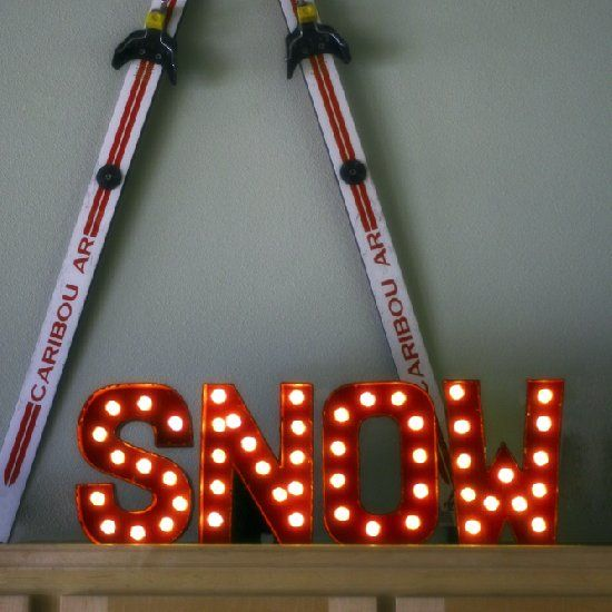 Paper mache letters snow and chang e on pinterest