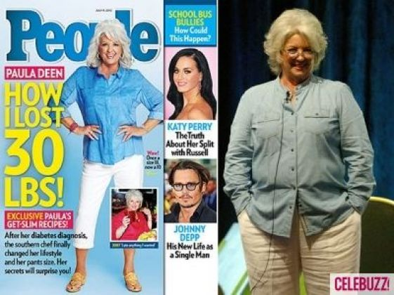 Paula Deen Loses Weight On A Low Carb Diet Paleodiet Lose 30 Pounds Paula Deen Celebrities Who Lost Weight