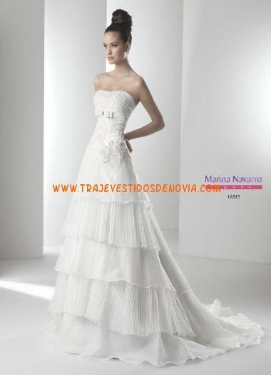1A813  Vestido de Novia  Marina Navarro