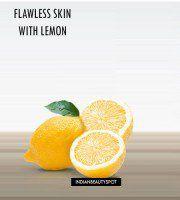 Flawless skin with lemon