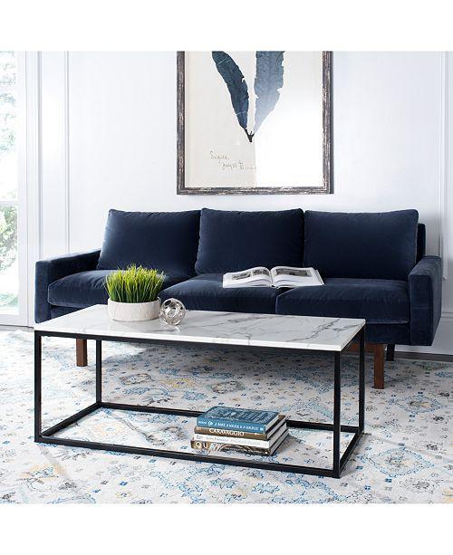Baize Coffee Table Quick Ship Grey Wood Coffee Table Furniture
