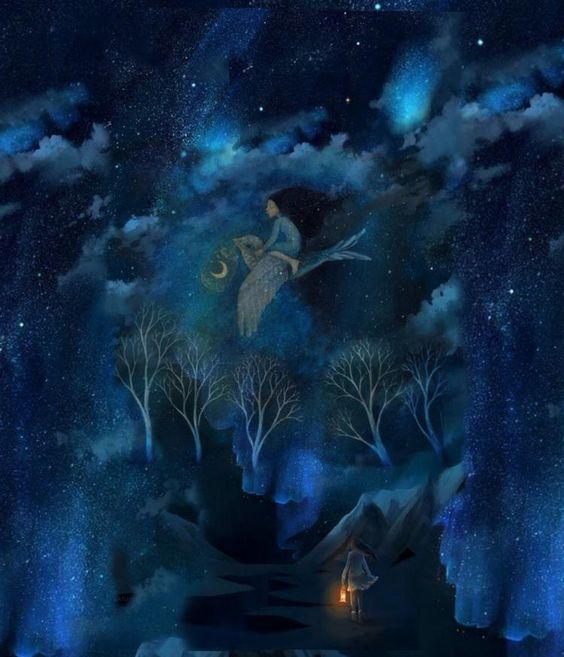 Blue Dreams - Kerry Armstrong @Bazaart