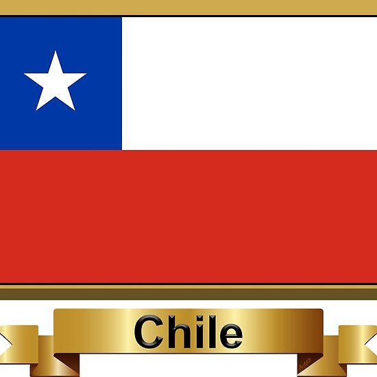 Chile Flag Gifts Stickers Products N In 2020 Chile Flag Flag Gift Flags Of The World