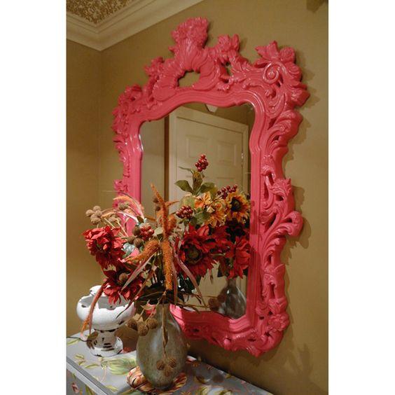 Howard Elliott Turner Hot Pink Mirror 2147HP