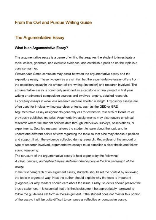 Pin On Persuasive Essays Argument Essay Examples Example