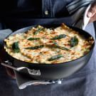 Try the Pancetta and Chard Skillet Lasagna with Sage Recipe on williams-sonoma.com/