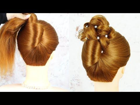 French Twist Updo Hair Tutorial Perfect For Prom Weddings Work Easy French Twist Hairstyle Youtube French Twist Updo Easy Hairstyles Simple Prom Hair