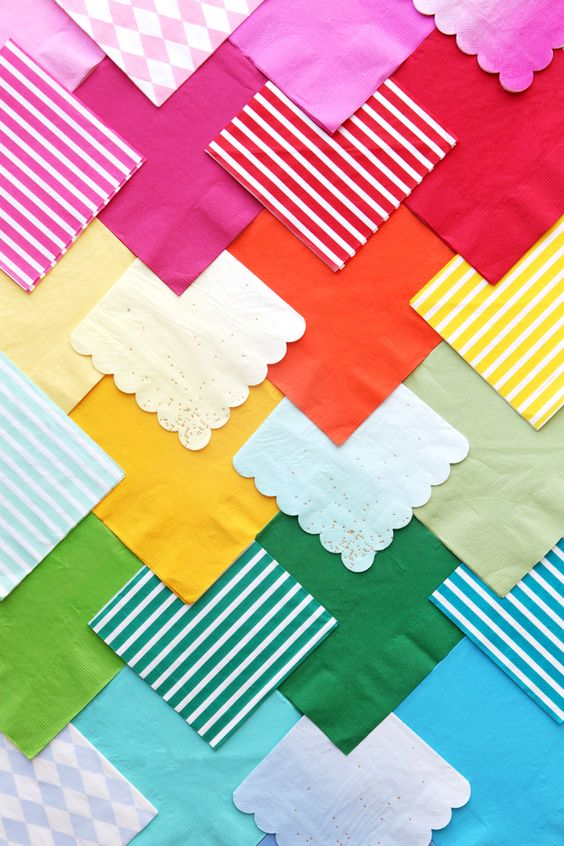 Pretty Paper Napkins | Oh Happy Day: