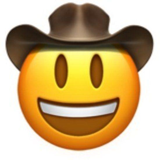 Cowboy Emoji Emoji Stickers Emoji Faces Emoji