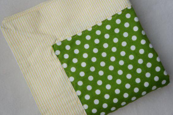 Baby Blanket  Baby Boy or Baby Girl  Receiving by YourLittleBean, $8.00