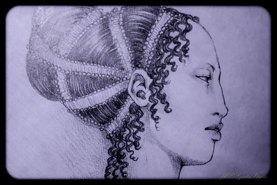 hair styles in the 1300 s