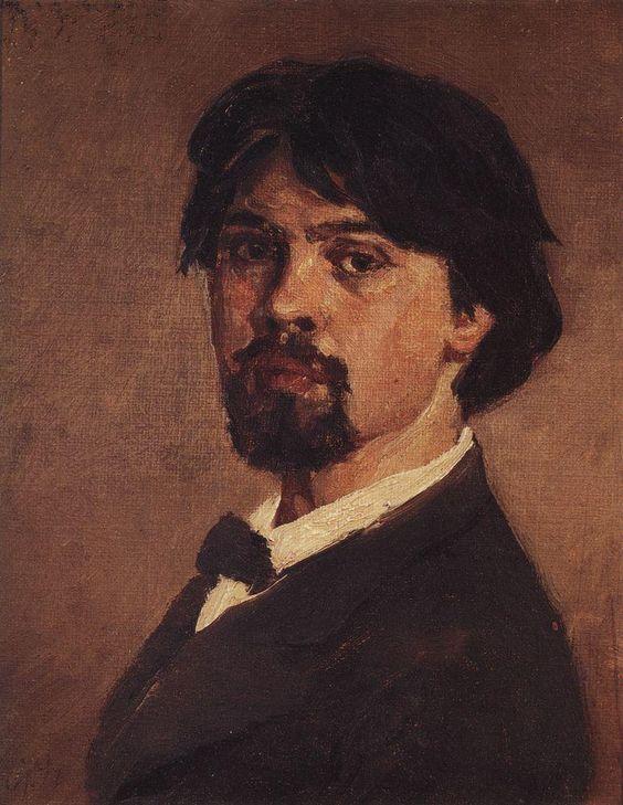 суриков Василий Суриков. Галерея живописи. Автопортрет. 1879: