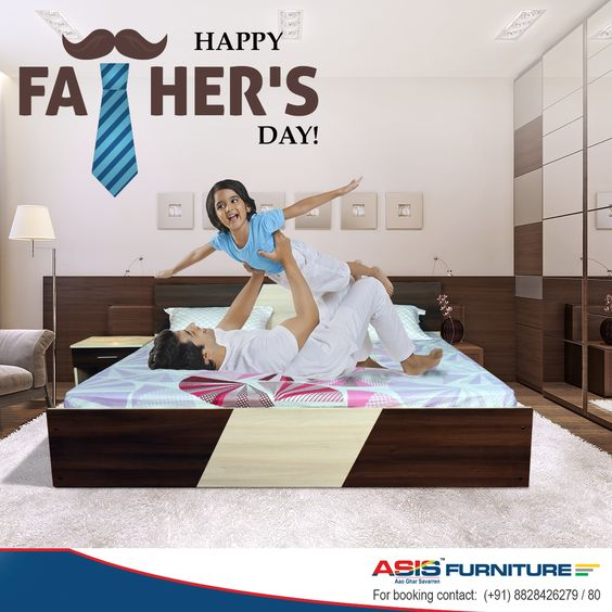 ASIS furniture wishes you all a very Happy Father's Day! Let's aim to be sturdy and strong like our fathers in our lives! ‪#‎asisgroupindia‬ ‪#‎furniture‬