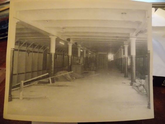 ORIG 1903 PLATINUM PHOTO Bowling Green Subway NYC New York City
