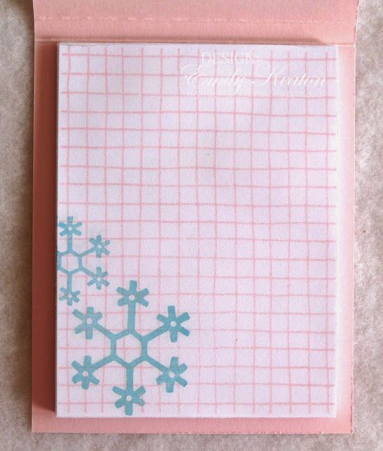 My Little Slice of Bliss: Winter Wonderland Notepad