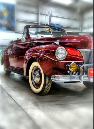 1941 Ford...LoVe!  WOW the year I was born and in my favorite color. It really ought to be mine...