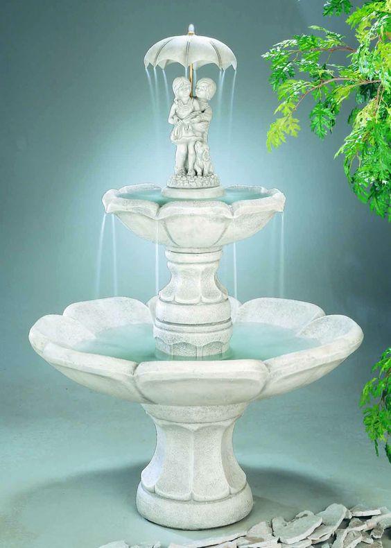 April Showers 6 Piece Fountain