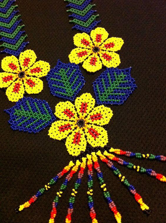 Huichol Peyote Beaded Necklace