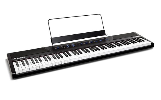 Amazon.com: Alesis Recital 88-Key Beginner Digital Piano with Full-Size Semi-Weighted Keys and Included Power Supply: Toys & Games: