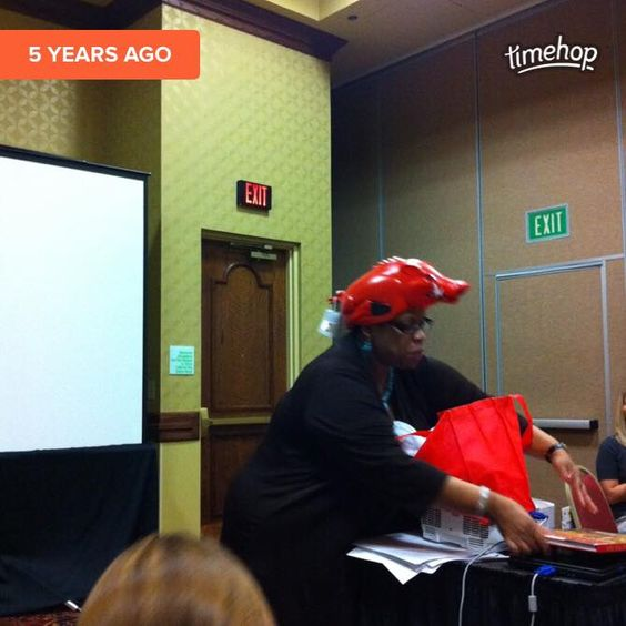 That time we got Vicki Clark to wear a hog hat and she trained many JLNWA and JLFS members to be stronger community leaders!   Everyone won that day!!! - http://ift.tt/1HQJd81