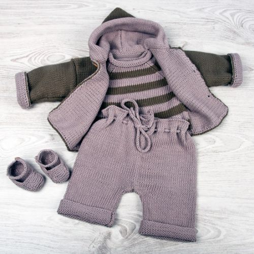 brooks and hooded cardi
