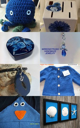 Blue Bayou by LittleFrenchOwl on Etsy--Pinned with TreasuryPin.com