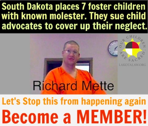 Become a MEMBER at lakota.cc/1kvf8ka. In recent weeks, The Mette Affair has crept out of the shadows and has gained momentum. This case epitomizes the corruption of the state of South Dakota and underscores why it is so crucial to create a Lakota run foster care system. We are determined that this deeply disturbing and bone chilling case of sexual and physical abuse of Lakota foster children by their foster parents never occurs again.