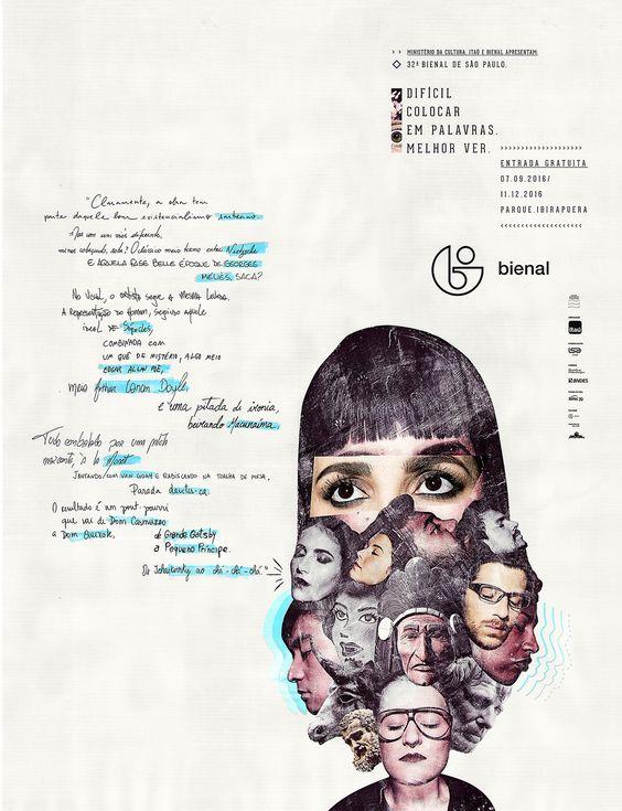 Resultado de imagem para bienal poster 2016