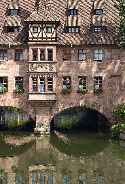 Ermaliger Krankenhaus der Heiligergeist   Nürnberg Germany