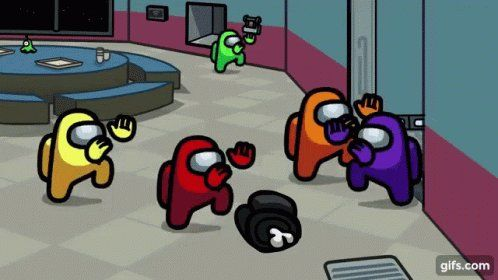 Ajhcraft On Twitter Ratio D By Distracted Crewmates Gif Dance Really Funny Pictures Animation