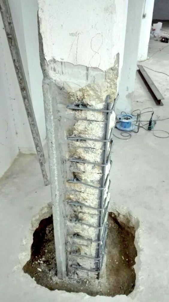 Concrete Column Rebar