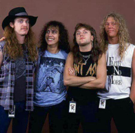 Metallica au début 80