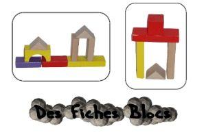 Fiche bloc en bois ateliers autonomes la maternelle for Bloc construction bois