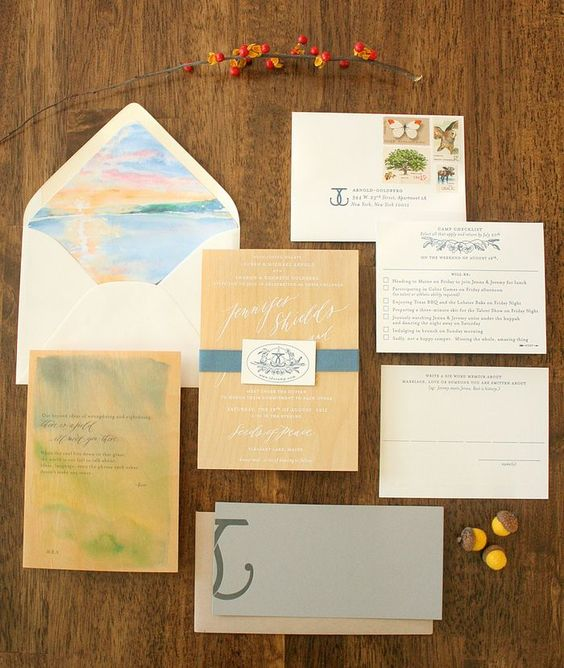 #wedding stationery
