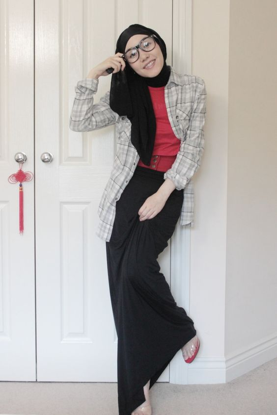 And i never wear color hana tajima hijab modesty Hijab fashion style hana tajima