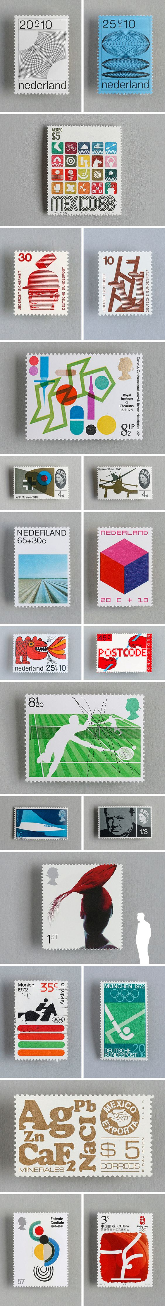 The Olympics seems to bring out the best in stamp designers over recent times — and looking back I can see what a powerful visual record they are and what a loss it will be when digital eventually brings the end of 'snail mail'.