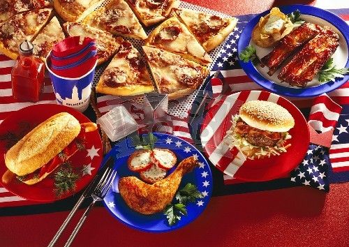 American food picture hot dogs pizza food picture food for American cuisine foods