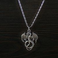 Necklace Length:46cm charm size : 28x35mm color: silver tone quantity:1pcs Material: zinc alloy meta