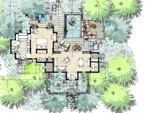 Khassa Rah Unit Plan 1 940x705 Jpg Architecture Concept Drawings Plan Sketch Site Plan Rendering