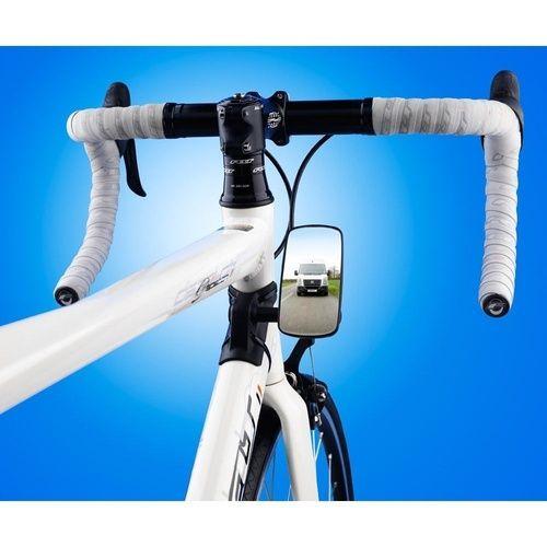 Road Bike Cycling Adjustable Handlebar Plug Rear View Mirror Bicycle Accessories