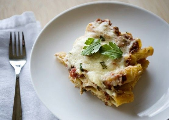 Baked Pasta  #pasta by @juliciously