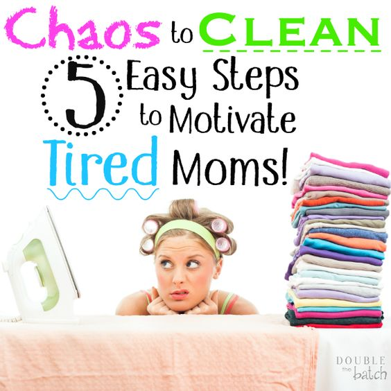 Does your home feel like the aftermath of a natural disaster making you want to crawl back into bed? Here are the 5 steps I usually use to take my house from chaos to CLEAN so I can function again!