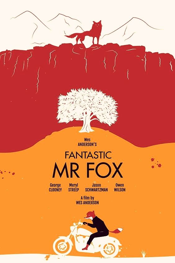 Fantastic Mr Fox Free Download Wes Anderson Movies Posters Fox Poster Animated Movie Posters