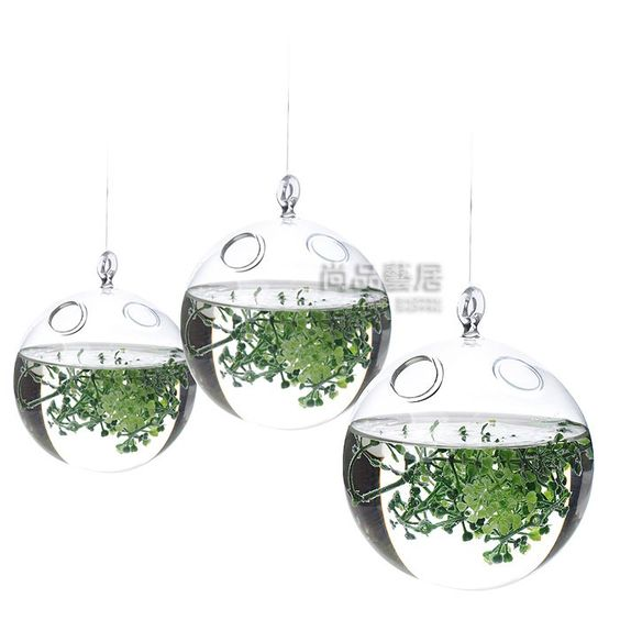 freeshipping nozze decorazione chiaro vaso di fiori di vetro vasi Hangin soffitto palla goccia palle in  da  su Aliexpress.com